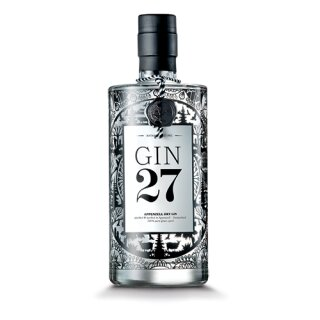 Gin 27, Dry Gin, 0.7l, Appenzell